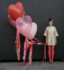 "Giant Heart Balloon 3 Pack - 36"" Latex Helium Heart Balloon - Pick Your Colour"