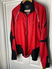 GORE RUNNING WEAR WINDSTOPPER SIZE XXL RUNNING JACKET IN RED RRP: £124-99