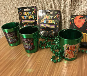 Small Happy New Year Cups