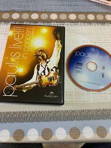 PAUL MCCARTNEY THE BEATLES DVD IS LIVE 2003
