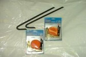 Heavy duty marquee tiedowns/ratchet straps/pegs