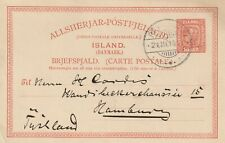 PC Reyckjavik -Hamburg 21-03-1910