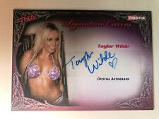 2009 TriStar TNA Knockouts Signature Curves #KA13 Taylor Wilde AUTO