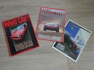 WHAT CAR? -  Magazine - June 1986 - PLUS 2 SPECIAL SUPPLEMENTS - SEE PHOTOS.
