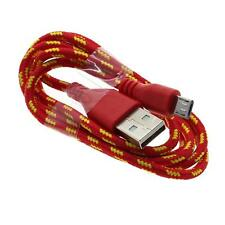 1M ROT Micro USB SYNC-Datenkabel Ladekabel Für Samsung Sony HTC Android