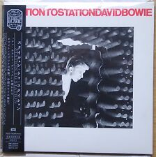 Rare David Bowie Station to  Station MINI Vinyl CD EMI Japan Carded Sleeve OBI