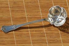 Christofle 19e Saupoudreuse  Cuillère à sucre Argent Minerve  Sugar sifter spoon