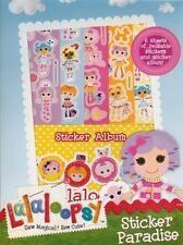 Lalaloopsy Stickers Paradise - Sticker Album & Stickers - TV Characters (HL70)