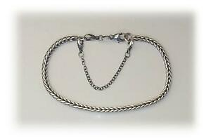 925 Sterling Silver Safety Chain for Popular Trollbead Bracelet Troll Beads