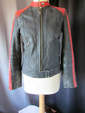 blouson redkins cuir taille S