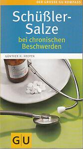 Schüßler Salze bei chronischen Beschwerden GU, Ladenpreis 12,99€  UNGELESEN
