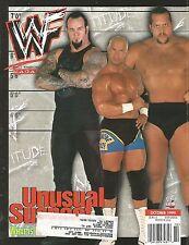 OCTOBER 1999 WWF WRESTLING MAGAZINE BIG SHOW UNDERTAKER KANE BOB HOLLY VISCERA
