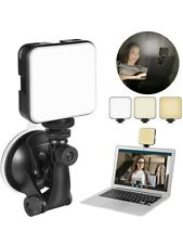 More details for video conference lighting kit dimmable & rechargeable conference call light zoom