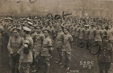 WW1 soldier group Volunteer Force VTC Chiswick and Ealing Defence Corps