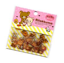 Sanx San-x Rilakkuma Sticker Sack stickers kawaii Pack flakes Japan Seal Bits A