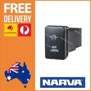 AUX Light Switch Fits Toyota RAV4 Toyota OEM Fit Narva 63306BL