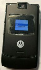Read First Motorola Razr V3 Black At&T Cell Phone Fast Shipping Mint Used