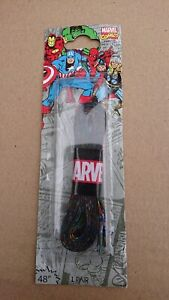 """Marvel Shoelaces Pair of 48"""" Laces with Comic Character Avengers Design fastp&p"""
