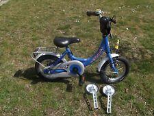 Ab 4 Jahre Puky 12 Zoll Alu Kinderfahrrad 4122 Blau Bremse  mit Stützräder
