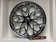 "09 up Harley Davidson 23"" front Wheel Custom Chrome Wheel Style 115c"