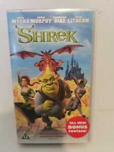 Shrek VHS Video DreamWorks Home Entertainment