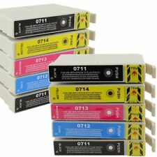 10 COMPATIBLE INK CARTRIDGES-REPLACE EPSON T0715/TO715