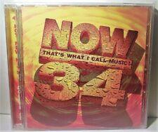 Now That's What I Call Music 34 - New  and Sealed Double CD
