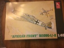 1538 hobbycraft African front  BF 109G-I/2 1/48 model kits new un-built in box