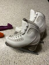 Edea Ice Fly 220 C Figures Skates w/ Matrix legacy And Rockers Guards