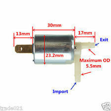 DC 12V Micro Electric Solenoid Valve Normally Closed N/C for Gas Air Water Valve