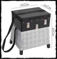 panchetto valigetta da pesca porta accessori surfcasting box cassetta bauletto