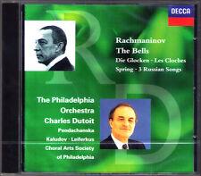 Charles DUTOIT: RACHMANINOV The Bells Spring 3 Russian Songs CD Sergei Leiferkus