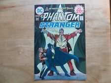 1974 BRONZE AGE DC THE PHANTOM STRANGER # 34 SIGNED BY ARNOLD DRAKE, WITH POA