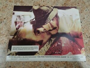 The Pink Panther Strikes Again lobby cards - Peter Sellers