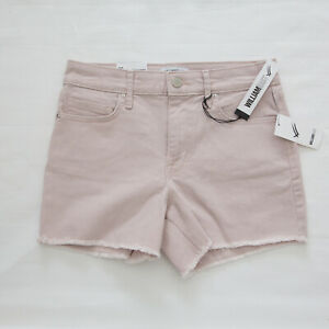 WILLIAM RAST raw hem HIGH RISE shorts stretch ICE CREAM PARADE size 26