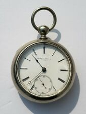 15j 18s Pocket Watch Running Vintage 1876 Rockford Model 1
