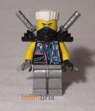LEGO Zane (Serpente JAGUAR Travestimento) dal Set 70640 s.o.g QUARTIER GENERALE NUOVO njo396