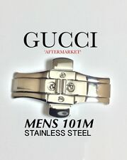 MENS GUCCI 101M  WATCH CLASP - REPLACEMENT CLASP STAINLESS STEEL