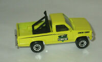 1987 Matchbox Dodge Dakota Pick Up Truck Highway Crew yellow MINT