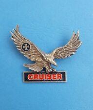Adler Cruiser / Biker  - Gothic Pin - Jacke  /5 x 6.5 cm/  - Kult und top!