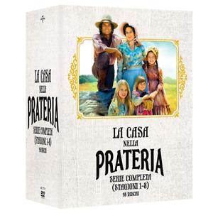 LA CASA NELLA PRATERIA - La Collezione Completa (Stagioni 1-8) (48 Dvd)
