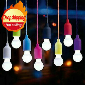 8PCS Battery Powered Camping Tent Light Bulb LED Outdoor Hanging Lantern Lamp