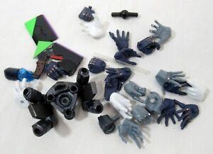 Revoltech Neon Genesis Evangelion Hands & Accessories Parts Lot