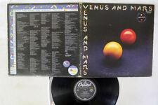 WINGS VENUS AND MARS CAPITOL EPS-80236 JAPAN VINYL LP