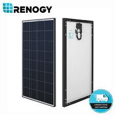 Renogy 100W Watt 12V Volt Monocrystalline Solar Panel (Black Frame) Off Grid PV