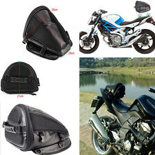 1x Riding Tribe Leather Saddle Storage Bag Motorcycle Waterproof Riding Package