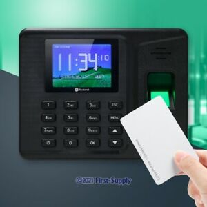 Support Remote Access Biometric Fingerprint And RFID Card Attendance Time Clock