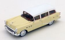 Buick Century Estate Wagon Tan & White 1954 1:43 Model TRUE SCALE MINIATURES