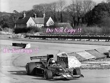 RONNIE PETERSON LOTUS JPS 76 f1 test GOODWOOD 1974 fotografia 1