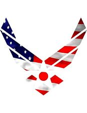 Airforce Symbol  / Yeti Cup Decal  Flag Camouflage Sticker decal